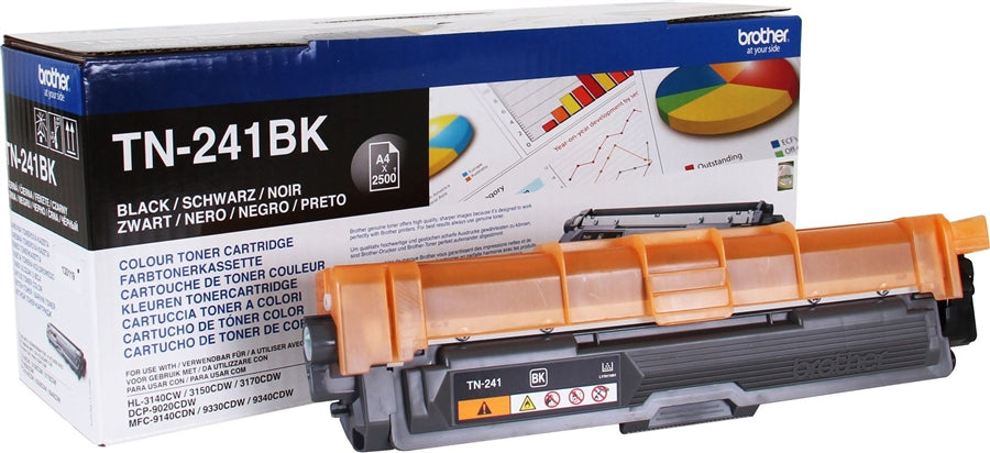 Brother TN-241 Black Toner Cartridge (Original)