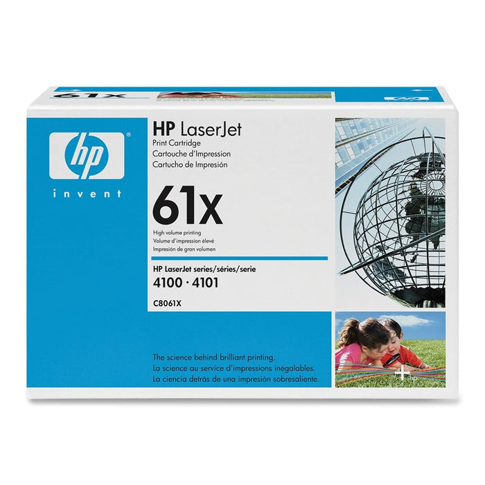 HP C8061X High Yield Black Toner Cartridge