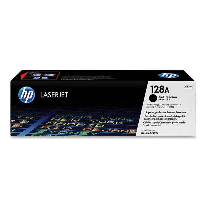 HP 128A (CE320A) Original Black Toner