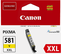 Canon CLI-581Y XXL Yellow Ink (Original)