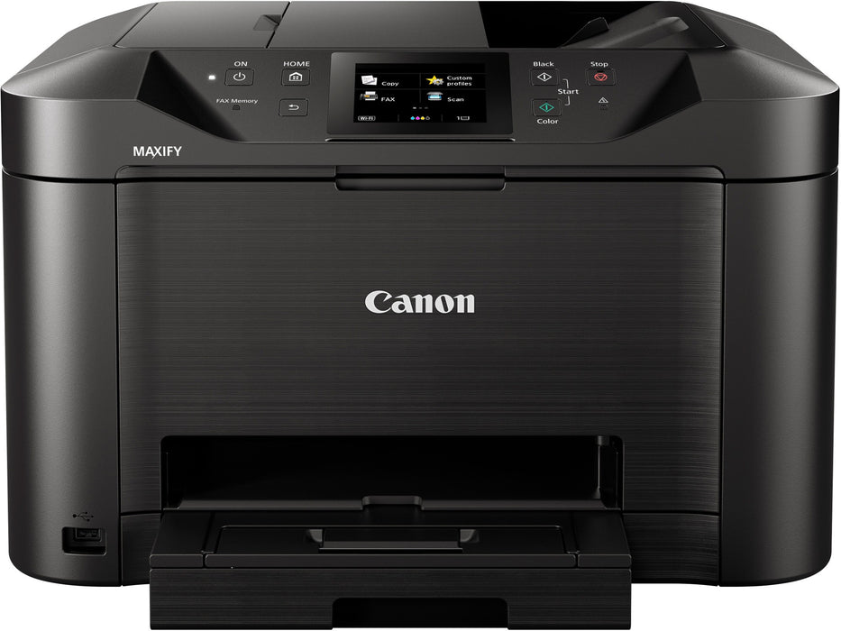 Canon MAXIFY MB5155 MFP Multifunction Duplex Wireless Network 4 in 1 with Print,Copy,Scan and Fax A4 Colour Inkjet Printer