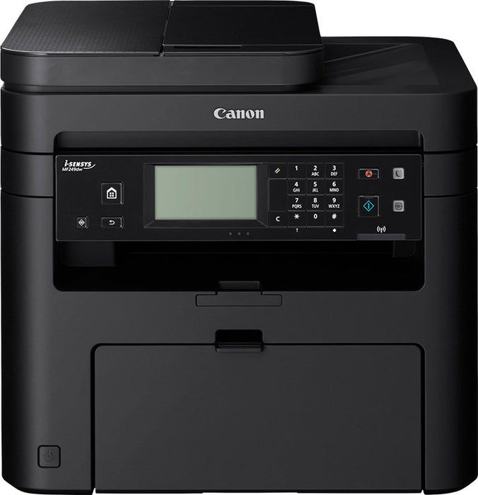 Canon i-SENSYS MF249DW Duplex Wireless Network A4 Mono Multifunction 4 in 1 with Print,Copy,Scan and Fax Laser Printer
