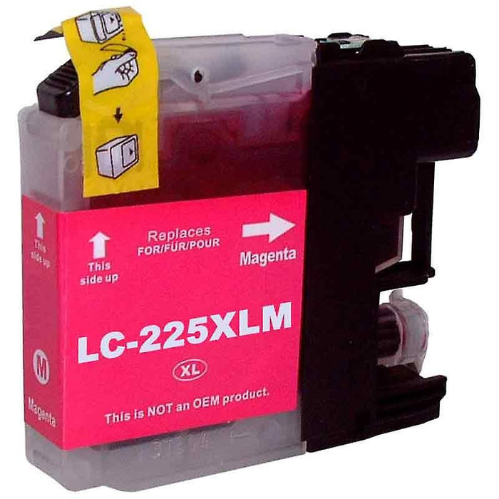 Brother LC-225XLM Magenta Ink (Non OEM Compatible)