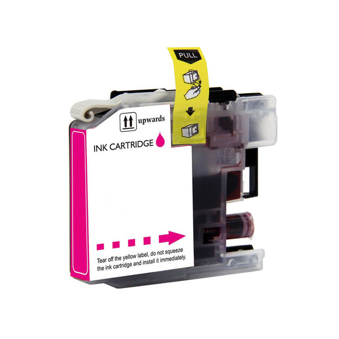 Brother LC-221M Magenta Ink (Dynamo Compatible)