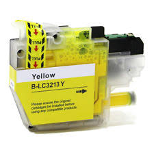 Brother LC-3213Y Yellow Ink (Dynamo Compatible)