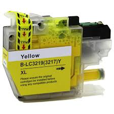 Brother LC-3219XLY Yellow Ink (Dynamo Compatible)
