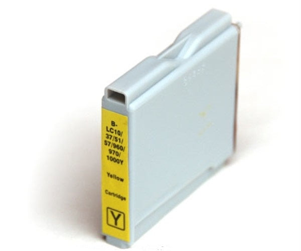Brother LC970Y Yellow Ink Cartridge (Dynamo Compatible)