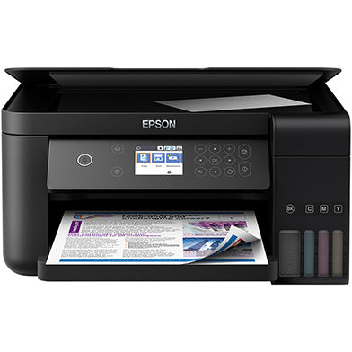 Epson EcoTank ET-3700 Colour Wireless Network 3 in 1 with Print,Copy,Scan, A4 Colour Inkjet Printer