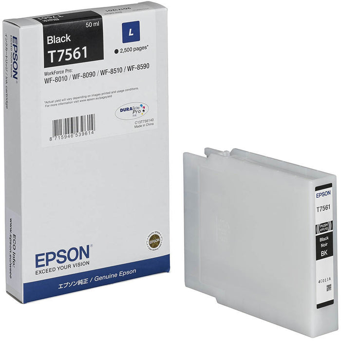 Epson T7561 Black Ink Cartridge