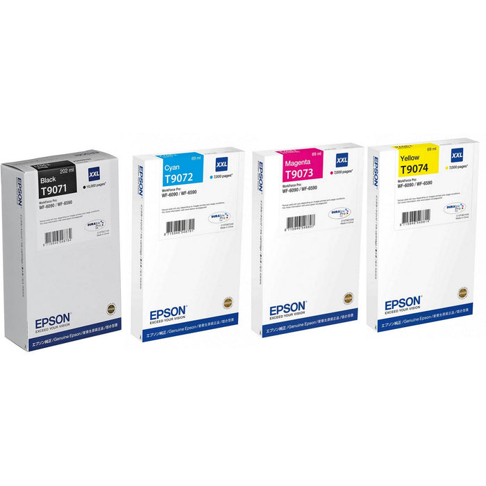 Epson T907 XXL CMYK Multipack Ink Cartridges