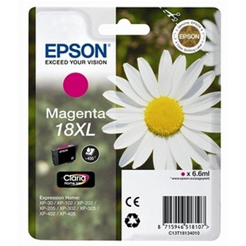 Epson T1813 High Yield Magenta Ink Cartridge