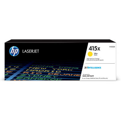 HP Original W2032X 415X Yellow High Yield Toner