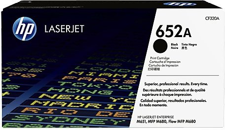 HP 652A Black CF320A Original Toner Cartridge
