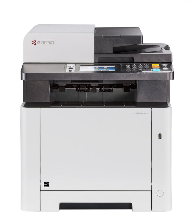Kyocera Ecosys M5526CDN MFP Multifunction Duplex Network 4 in 1 with Print,Copy,Fax and Scan Colour Laser A4 Printer