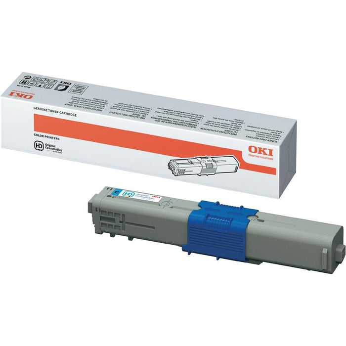 OKI 5K 44469724 Original Cyan High Capacity Toner Cartridge