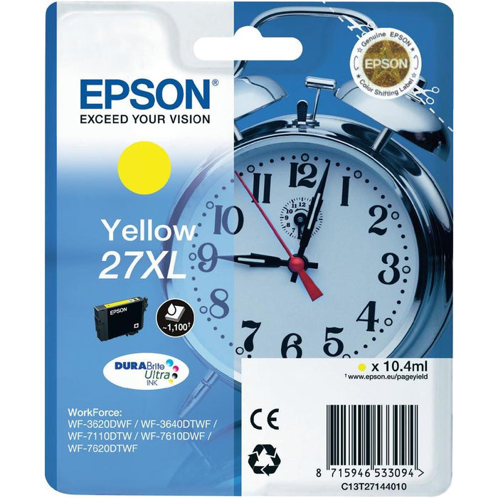 Epson T2714 High Yield Yellow Ink Cartridge