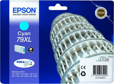 Epson 79XL T7902 High Yield Cyan Ink Cartridge