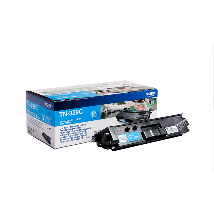 Brother TN-329 Original High Yield Cyan Toner