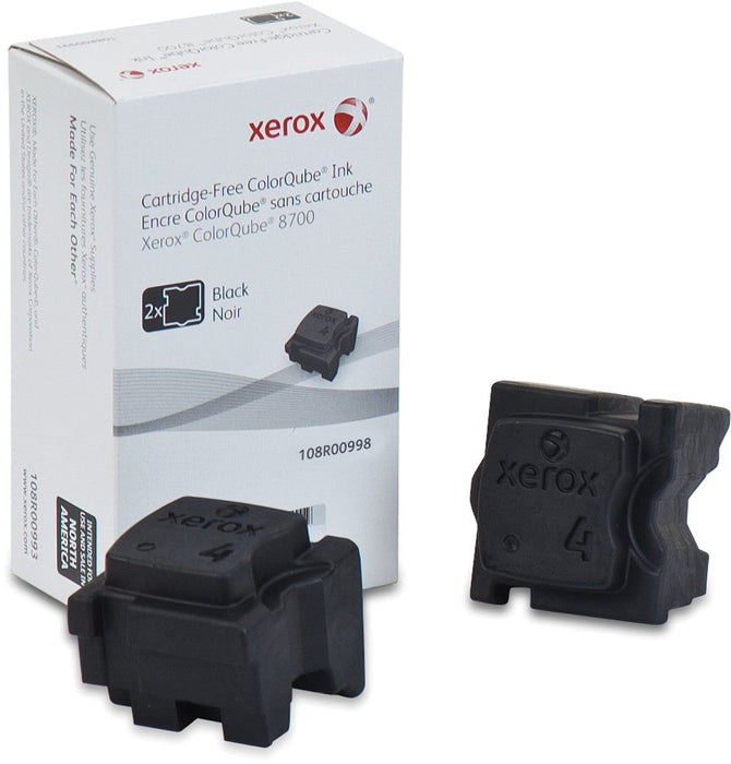 Xerox 108R00998 Black Solid Ink