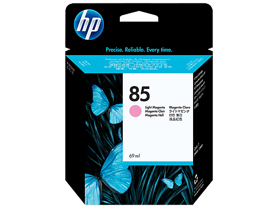HP 85 Light Magenta Ink Cartridge, Original (C9429A)
