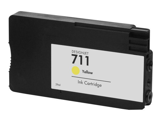 Dynamo HP 711 High Capacity Yellow Ink