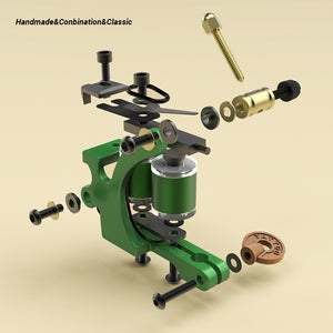 handmade coil tattoo machine