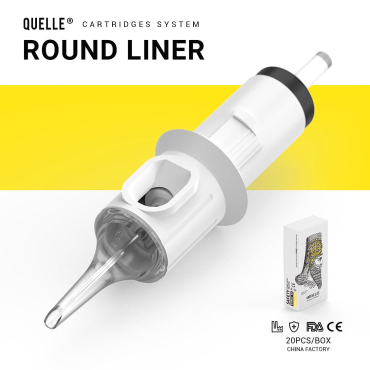 Quelle Premium Tattoo Needle Cartridges Round Liner / RL