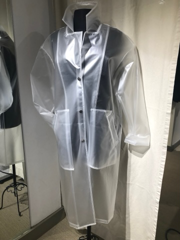 French Translucent Rain Coat