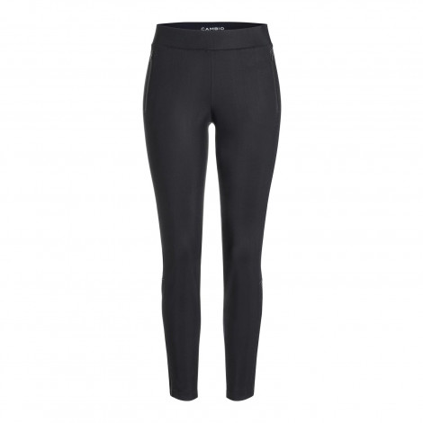 Cambio Black Perfect Racer Pants