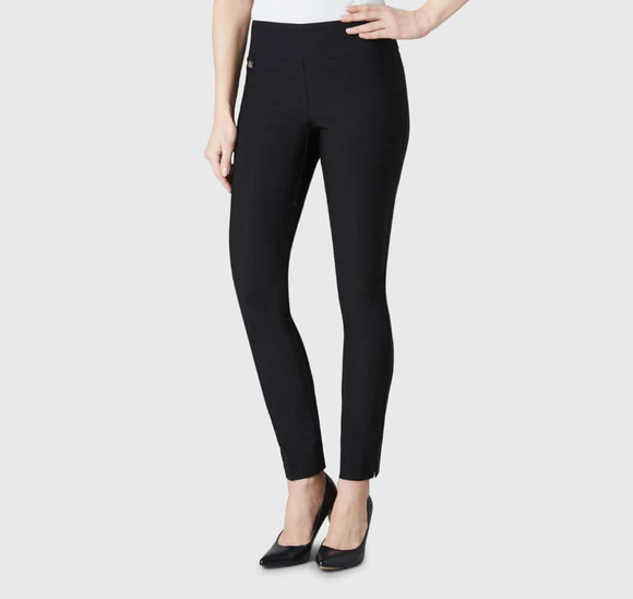 Lisette Black Slim Pants