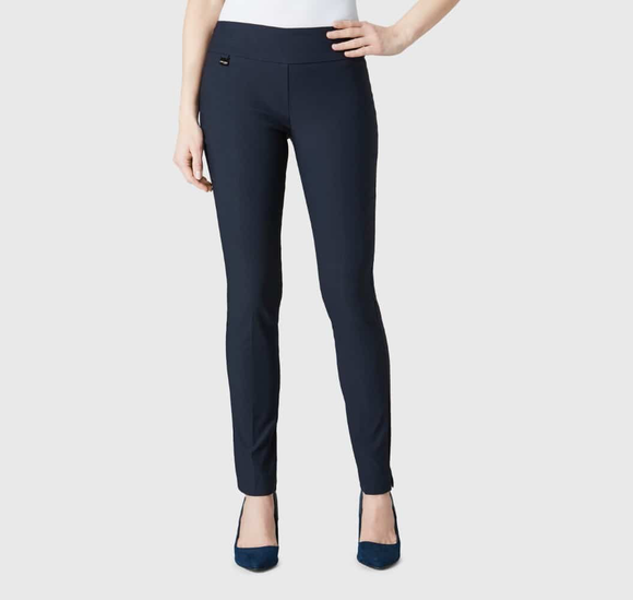Lisette Navy Slim Pants