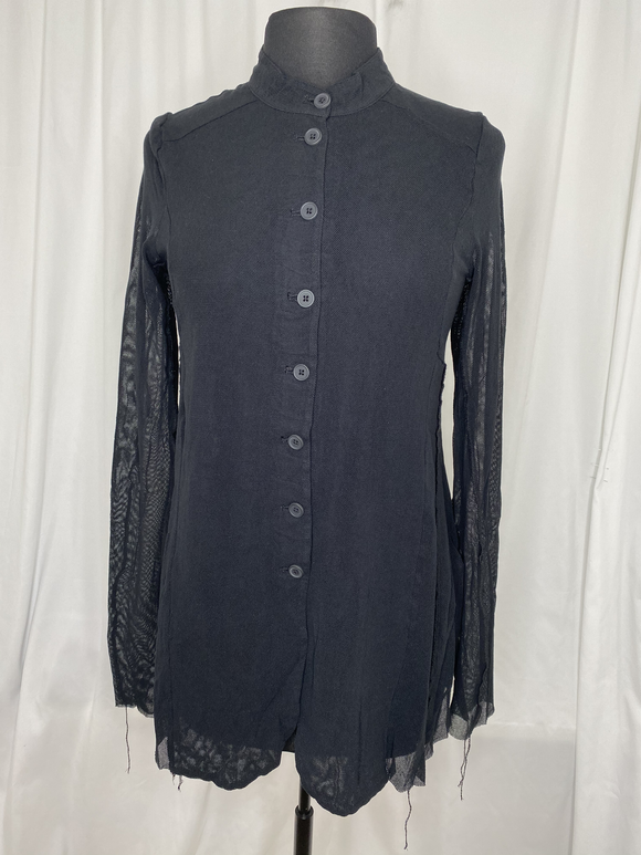 Studio Rundholz Black Sheer Jacket
