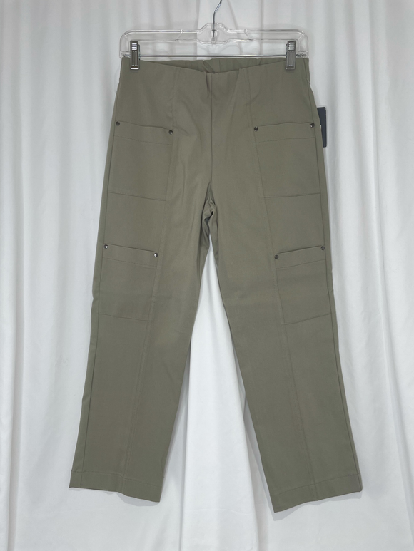 Elliot Lauren Thyme Pull On Pant with Cargo Pocket Detail