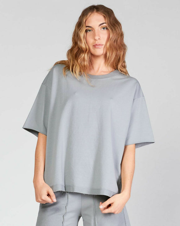 Raw Edge Sleeve Tee