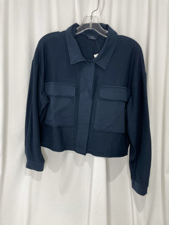 Navy Pocket Jacket