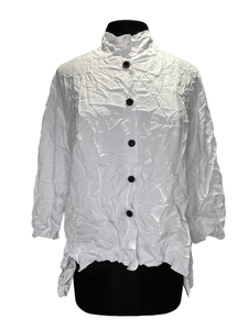 MSquare White Crinkle Liberty Shirt