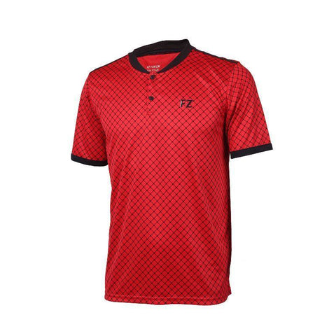 FZ Forza Bronx Junior Badminton T-Shirt (Red)