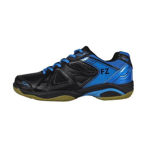 FZ Forza Extremely Junior Badminton Shoes (Black-Blue)
