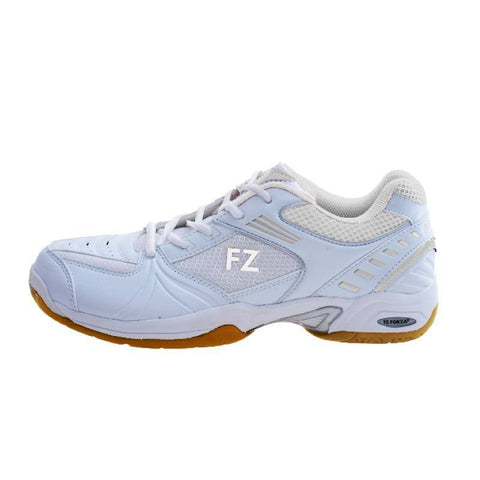 FZ Forza Fierce Unisex Badminton Shoes (White)
