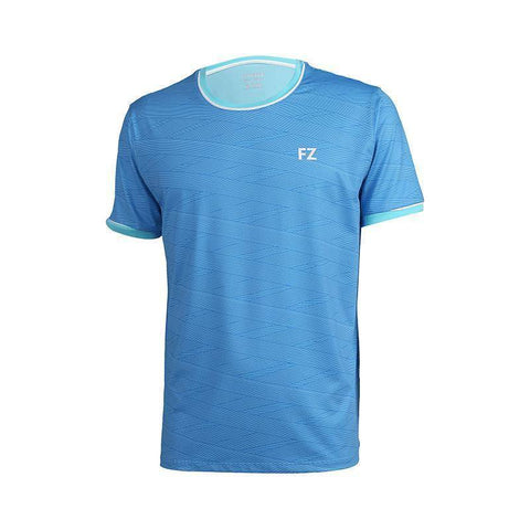 FZ Forza Haywood Mens Badminton T-Shirt (Blue)