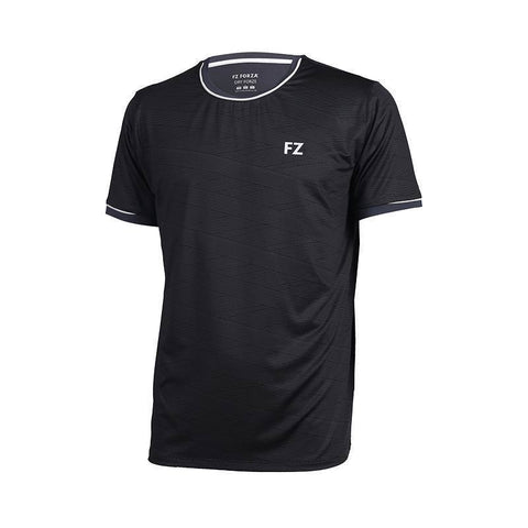 FZ Forza Haywood Mens Badminton T-Shirt (Dark grey)