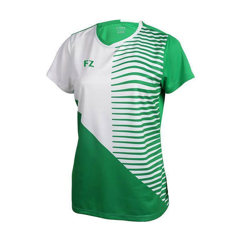 FZ Forza Hoxie IR Womens Badminton T-Shirt (Light green)