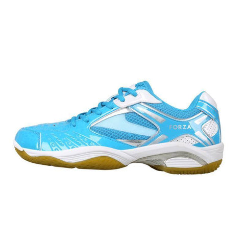 FZ Forza Lingus V4 M Junior Badminton Shoes (Light blue)