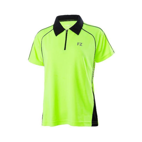 FZ Forza Maxime Womens Badminton Polo Shirt (Yellow)