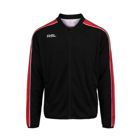 RSL Balder Junior Badminton Jacket (Black)