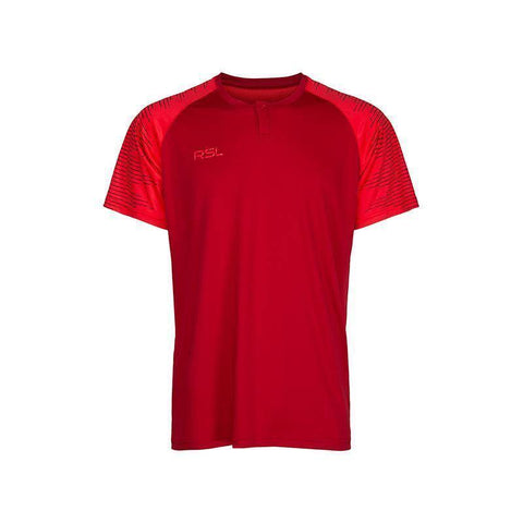 RSL Calvin Mens Badminton T-Shirt (Red)