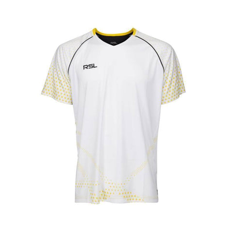 RSL India Junior Badminton T-Shirt (White)