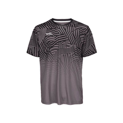 RSL Titan Mens Badminton T-Shirt (Grey)