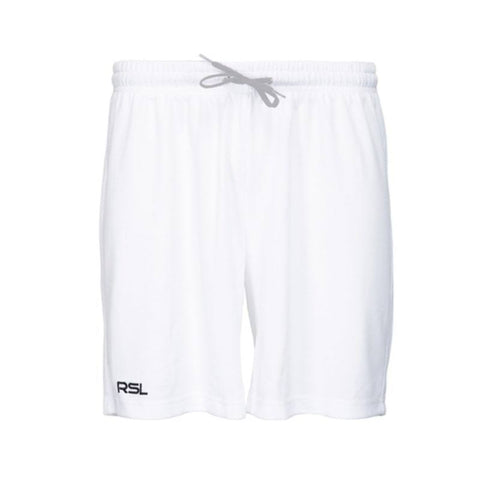 RSL Mimer Junior Badminton Shorts (White)
