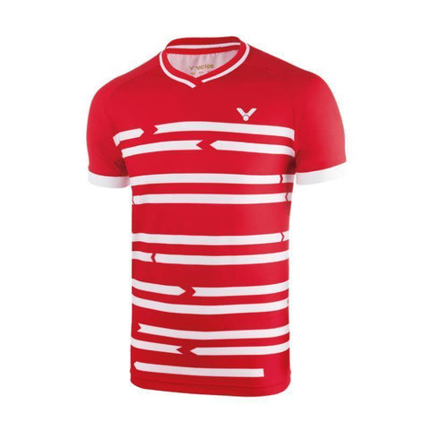 Victor 6628 Mens Badminton T-Shirt (Red)